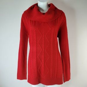 Napa Valley Cowl Neck Sweater Size M Pullover